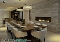 19 mejores imágenes de Comedores modernos   Dining room, Dinning ...