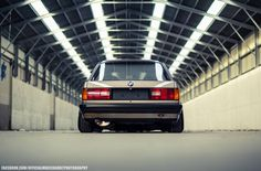 BMW E30 3 series beige