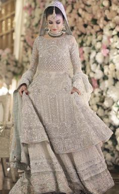 For contact 00923009681116 Pakistani Wedding Outfits, Pakistani Bridal Dresses, Pakistani Dress Design, Pakistani Wedding Dresses, Bridal Lehenga, Walima Dress, Shadi Dresses, Indian Dresses, Indian Outfits