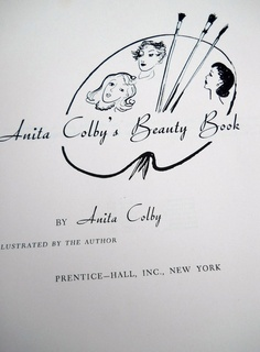 Vintage 1950s Beauty Book Anita Colby Miss by PerfectlyGoodStuff, $45.00