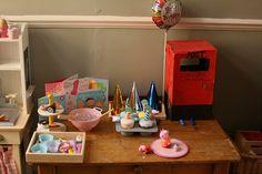 Birthday Party Dramatic Play Ideas