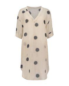 SYLVER Big Dot Dress