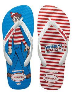 Havaianas lança modelos Onde está Wally. Personagem comemora 25 anos em 2013