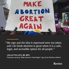 Image result for make abortion safe protest sign