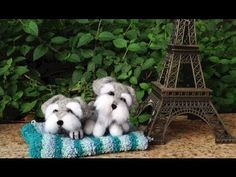 DIY video demonstrating how to make an adorable schnauzer puppy. I picked up another kit and thought we'll share the making process together. I realised there's not very much Needle Felting tutorials on Youtube so hopefully this is helpful. I'm so glad to hear you guys enjoyed the last DIY video...