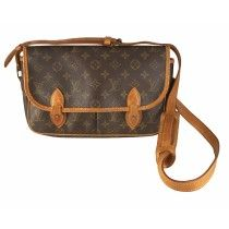 Louis Vuitton Sac Gibeciere MM i Monogram Canvas