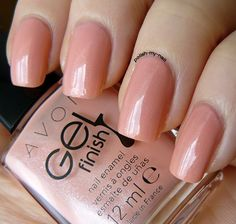 avon gel finish dazzle pink -