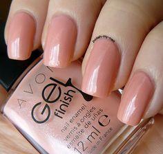 avon gel finish dazzle pink -