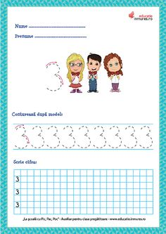 Fișe de lucru - Scrierea cifrelor și a numerelor Preschool Learning Activities, Preschool Activities, Numbers Preschool, Math 2, Coloring Pages, Teaching, Education, Ely, Dental