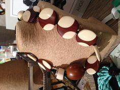 Natural hues tone down these big, bold beads. (Angela Caputi)