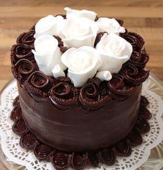 Chocolate Ganache Cake.