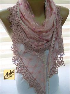 A personal favorite from my Etsy shop https://www.etsy.com/listing/208685049/pink-scarf-fashion-scarf-gift-ideas-for