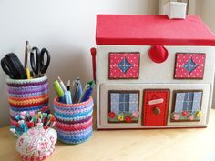 Cath Kidston's sewing box