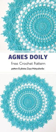 Crochet Pattern Free, Crochet Thread Patterns, Free Crochet Doily Patterns, Crochet Motif, Crochet Designs, Crochet Tablecloth Pattern, Crochet Doily Diagram, Crochet Coaster, Lace Patterns