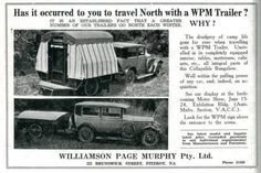 Interesting vintage design, notice how the popup roof comes down to ...
