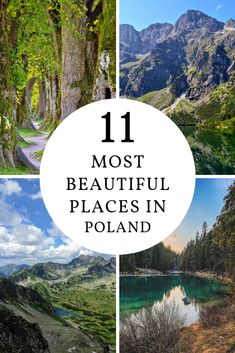 11 natural wonders of Poland - Feast your eyes on these amazing sights to see in Poland, bursting with natural beauty and unforget - Travel Europe Cheap, Cheap Places To Travel, Europe Travel Guide, Beautiful Places In The World, Cool Places To Visit, European Destination, European Travel, Lake District, Visit Poland