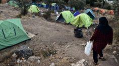 Griechische Flüchtlingscamps: Angst vor dem Winter