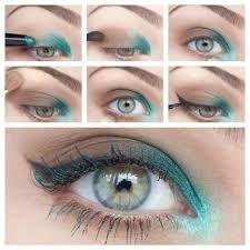 Bildergebnis für make up und eyeliner tricks blaue augen
