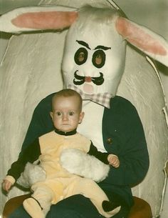 PHOTOS: 25 SCARY EASTER BUNNIES OF THE PAST ~ Popthomology