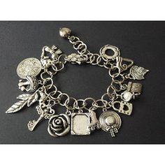 Unique Big Charm Bracelet for Designer Jewellery, Jewelry Design, Charmed, Big, Unique, Bracelets, Jewelery, Bangles, Bracelet
