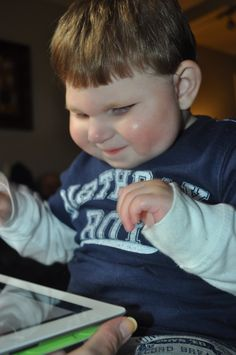 Thomas Marshall Does It All: iPad Apps for Blind/Visually Impaired Children