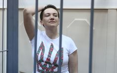 """Nadiya Savchenko: """"I am a soldier, not a homicidal maniac, and I have a healthy psyche. The Institute of Serbia is confirmed """"  #FreeSavchenko."""