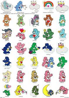 Coleção De Bordados Ursinhos Carinhosos - 85 Matrizes - R$ 9,99 no MercadoLivre