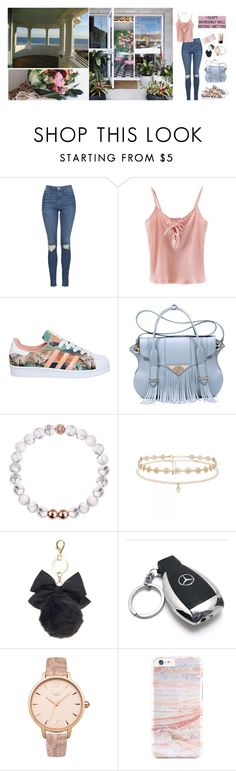 """first date."" by lovelybarb ❤ liked on Polyvore featuring Topshop, Chicnova Fashion, adidas, Ella Rabener, Forever New, Mercedes-Benz, Lipsy and NARS Cosmetics"