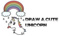 How to Draw Rainbow Unicorn from The Minions Movie Step by Step Drawing Tutorial . How to Draw A Rainbow Unicorn of the Sea . A cute Sea Unicorn, Hippo-campus Girl Drawing Easy, Girl Face Drawing, Drawing Hands, Easy Drawing Steps, How To Draw Steps, Step By Step Drawing, Drawing Tips, Drawing Videos For Kids, Easy Drawings For Beginners