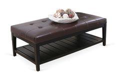 Osman Coffee Table, Dark Brown on OneKingsLane.com