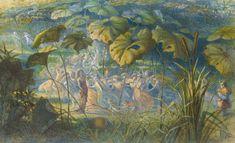 In Fairy Land- An Elfin Dance :: Richard Doyle - Fantasy in art and painting Richard Doyle, Enchanted Tree, Fairy Tree, All Nature, Paul Klee, Gustav Klimt, Fairy Land, Wassily Kandinsky, Claude Monet
