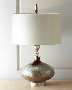 """""""Rainwater on Glass"""" Table Lamp by John-Richard Collection at Neiman Marcus...beautiful"""