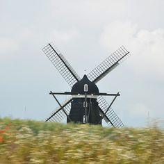 Windmill in Skåne, Sweden