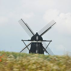 Windmill in Skåne, Sweden