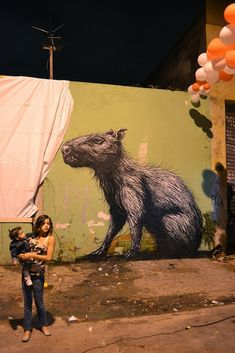 ROA - Sao Paulo.  Had my eye on this artist for a while now...