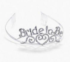 44a367cb06d This Rhinestone studded Bride to Be Tiara is a great way for the bride to  stand