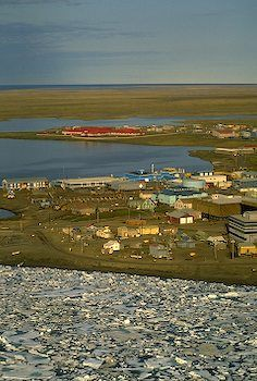 northernmost town in the USA ~ Barrow, Alaska