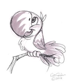 The Ol 'Sketchbook: animaux de dessin animé