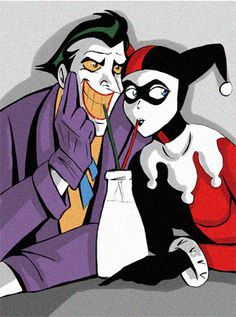 Joker y Harley Joker Y Harley Quinn, Harley Quinn Drawing, Halloween Villain, Harely Quinn, Japon Illustration, Joker Art, Dc Comics Art, Batwoman, Comic Book Characters