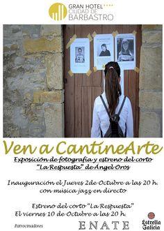 Cartel exposición Ángel Orós www.ghbarbastro.com