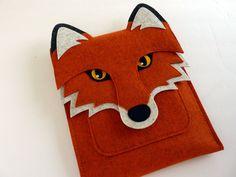 iPad  Hülle aus Filz - Fuchs