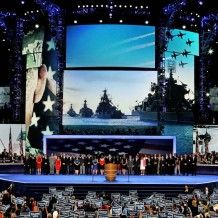 Why Did the Democrats Picture Russian Navy Ships during DNC Convention?