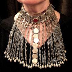 Bridal dowry necklace - Yemen