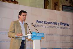 El ministro Soria en el Foro de Economía y Empleo.