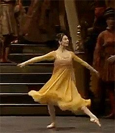 Juliet's variation, Alessandra Ferri het pointe is amazing!