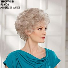 Pleasure WhisperLite® Wig by Paula Young® Permed Hairstyles, Cool Costumes, Salons, Curls, Wigs, Hair Cuts, Sexy, Fashion, Short Hairstyles
