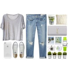 fresh jeans, created by pacificpeach on Polyvore