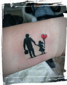 Ideas For Palm Tree Tattoo Men Prayer Father Daughter Tattoos, Father Tattoos, Dad Tattoos, Tattoos For Kids, Tattoos For Daughters, Sleeve Tattoos, Tatoos, Tattoos For Dad Memorial, In Memory Of Dad