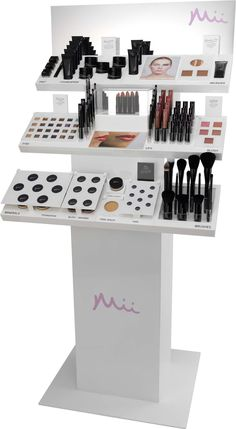 Mii Cosmetic stand we have in our salon