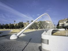 Manrique Footbridge / Murcia (Gallery) - Santiago Calatrava – Architects & Engineers